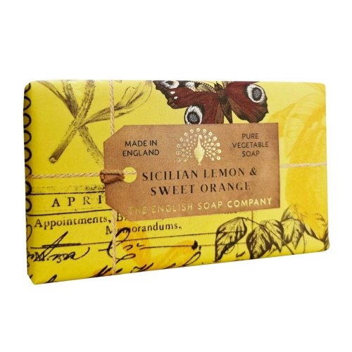 The English Soap Company: Sicilian Lemon & Sweet Orange Seife 200g
