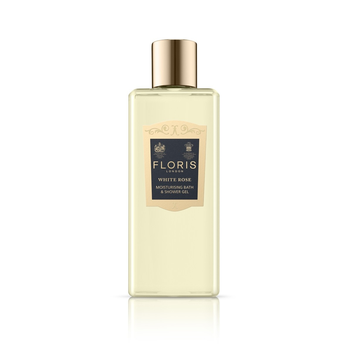 Floris: White Rose Moisturising Bath & Shower Gel 250ml