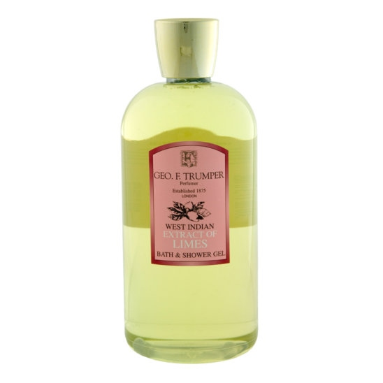 Geo.F. Trumper: Extract of Limes Bath & Shower Gel 500ml