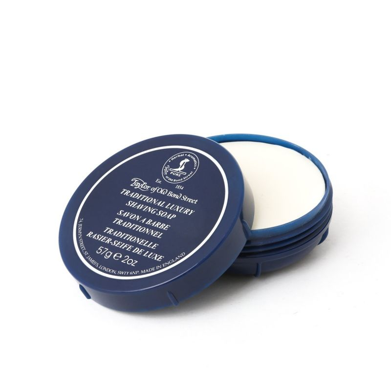 Taylor of Old Bond Street Traditional Luxury Shaving Soap in Travel Bowl 57g