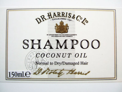 D.R. Harris: Coconut Oil Shampoo 150ML