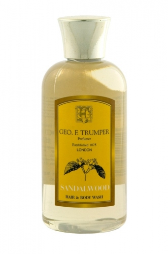 Geo.F. Trumper: Sandalwood Hair & Body Wash 100ml
