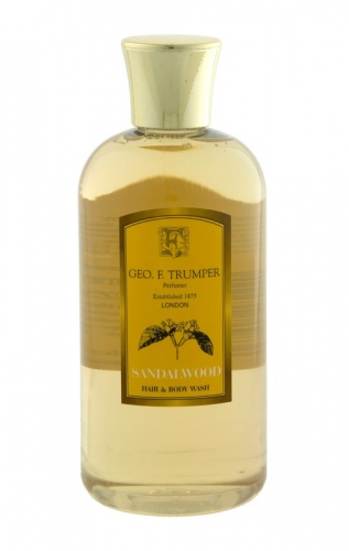 Geo.F. Trumper: Sandalwood Hair & Body Wash 200ml