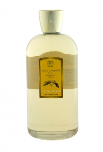 Geo.F. Trumper: Sandalwood Hair & Body Wash 500ml