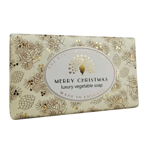The English Soap Company: Merry Christmas Bath Soap 200g