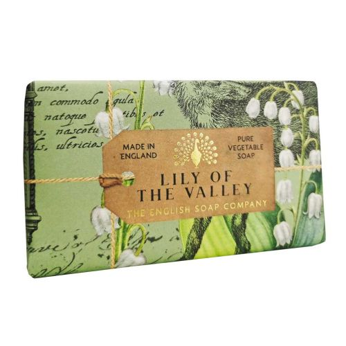 The English Soap Company Lily of the Valley Soap 190g