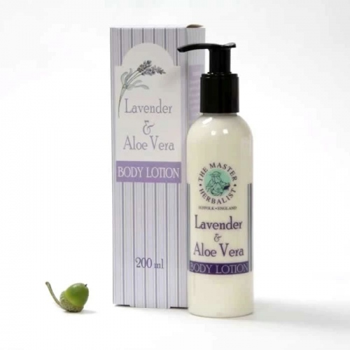 Master Herbalist: Lavender & Aloe Vera Body Lotion 200ml