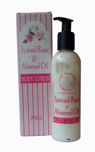 Master Herbalist: Spiced Rose & Almond Oil Body Lotion