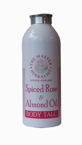 Master Herbalist Spiced Rose & Almond Oil Body Talc