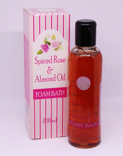 Master Herbalist: Spiced Rose & Almond Oil Foam Bath 200ml