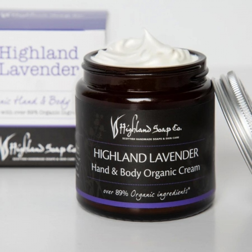 The Highland Soap Company Lavendel Hand & Body Cream 120ml